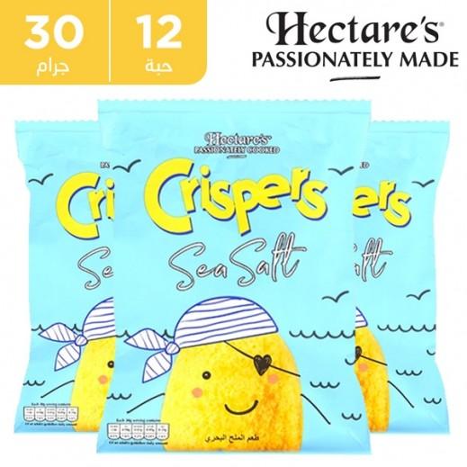 هيكترز - رقائق بطاطس خالية من الغلوتين كريسبس بطعم الملح البحري 12 × 30 جم