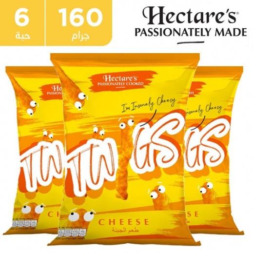 هيكترز - سناك الذرة تويجز بطعم الجبنة 6 × 160 جم