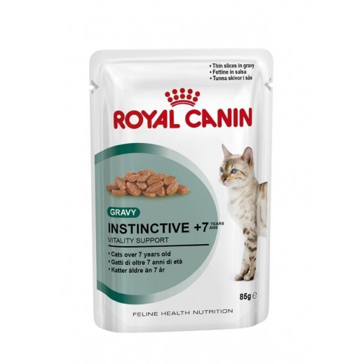 رويال كانين - طعام القطط البالغة انستنكتيف (7 أعوام فما فوق) 12 × 85 جم