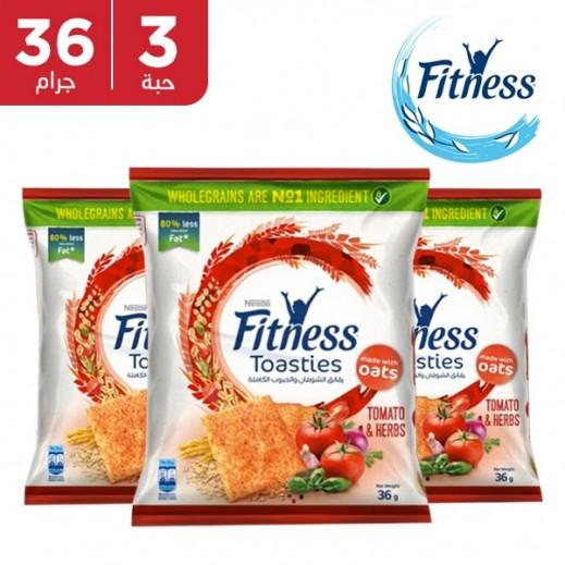 اشتري نستلة فتنيس رقائق الشوفان والحبوب الكاملة بطعم الطماطم والأعشاب 3 36 جم توصيل Taw9eel Com