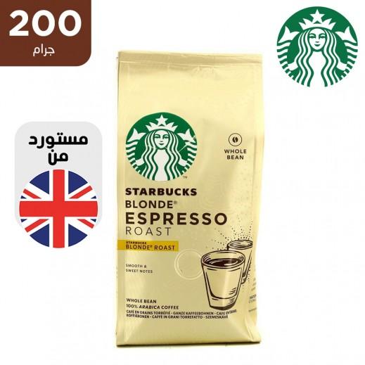 ستاربكس قهوة بليند حبوب كاملة فاتحة التحميص 200 جم