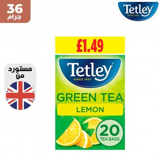 تتلي شاي اخضر بالليمون 36 جم