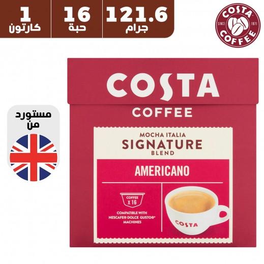 كوستا كوفي - كبسولات قهوة أميركانو 121.6 جم (16 كبسولة)
