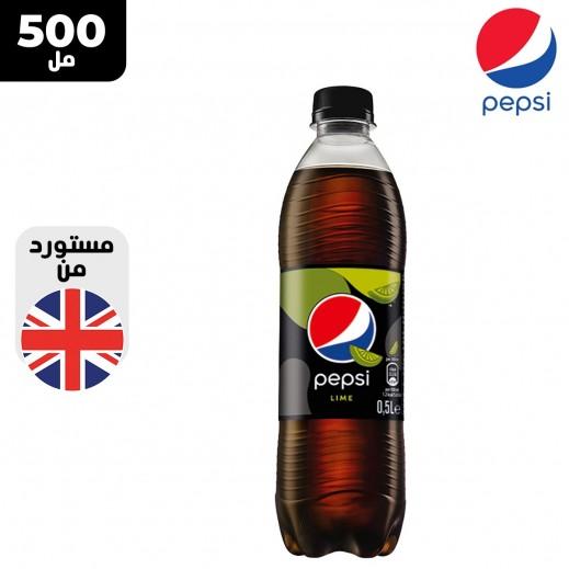 بيبسي مشروب غازي خالي من السكر بنكهة الحامض 500 مل
