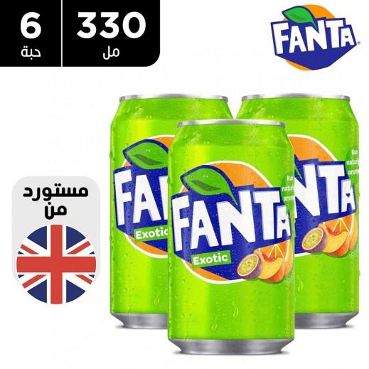 فانتا إكزويتيك مشروب غازي 6 × 330 مل