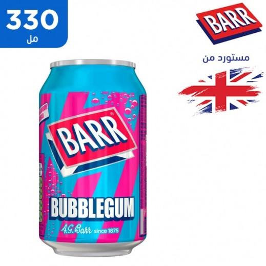 بار - مشروب بروتين خالي من السكر بنكهة العلك 330 مل