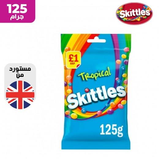 سكيتلز حلوى تروبيكال 125 جم