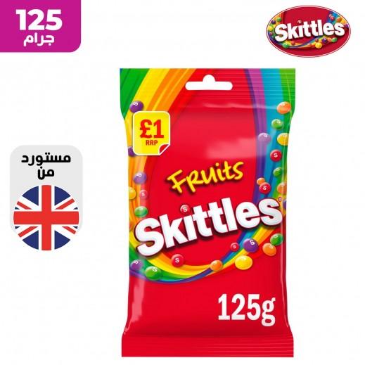 سكيتلز حلوى بالفواكه 125 جم