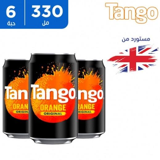 تانجو مشروب غازي بالبرتقال 6 × 330 مل