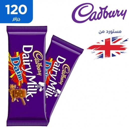 كادبوري - شوكولاتة ديري ميلك ديم 120 جم