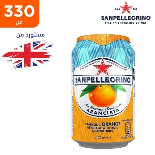 سان بيليغرينو – مشروب البرتقال الفوار 330 مل
