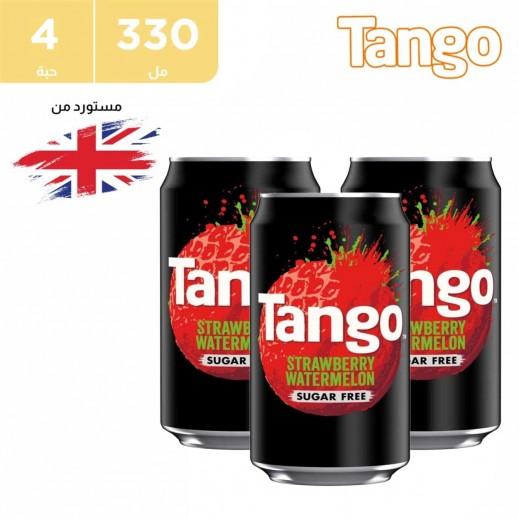 تانجو مشروب بطيخ وفراولة 4 × 330 مل