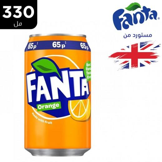 فانتا برتقال علبة مياه غازية 330 مل