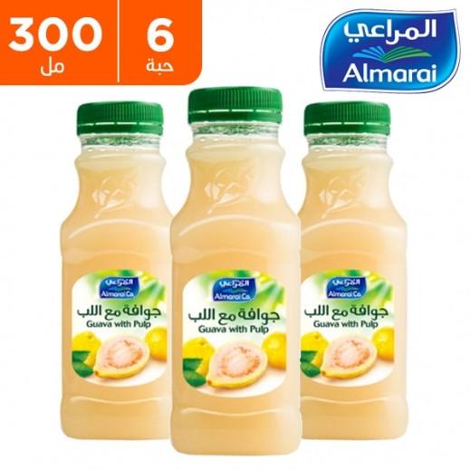 المراعي - عصير جوافة مع اللب 6 حبة × 300 مل - أسعار الجملة