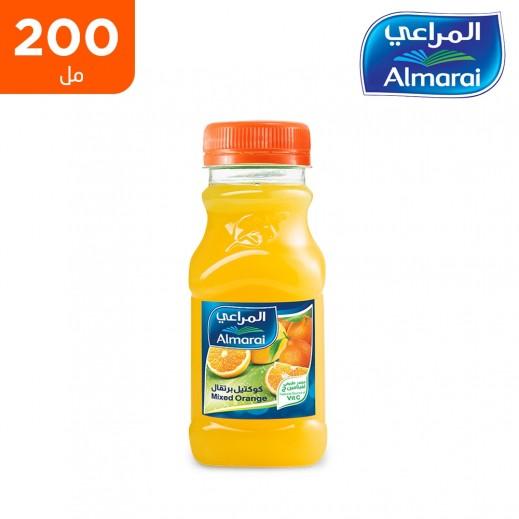 المراعي - عصير كوكتيل برتقال (زجاجة PET) عبوة 200 مل