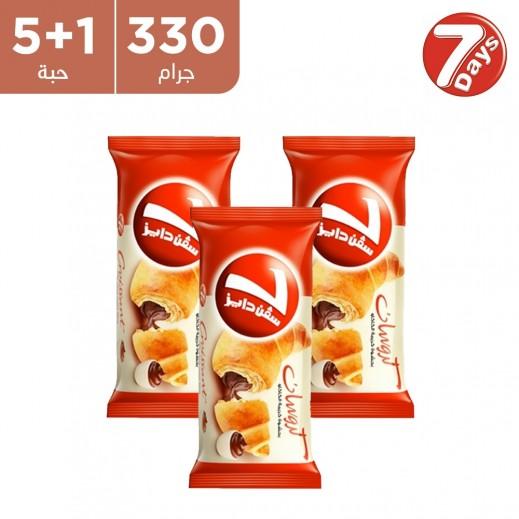 7 دايز – كرواسون بالشوكولاتة 330 جم ( 5+1 مجاناً)