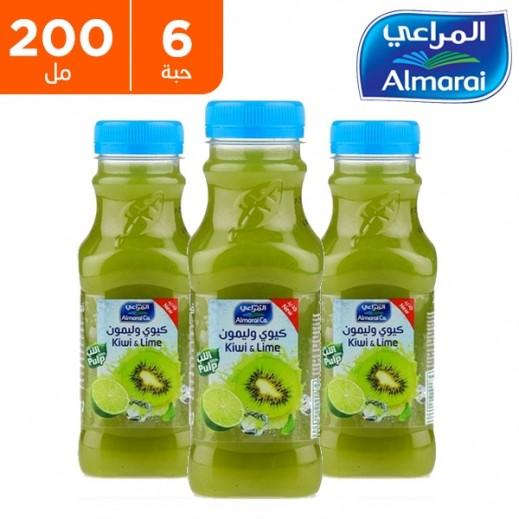 المراعي - عصير الكيوي والليمون 6 × 200 مل