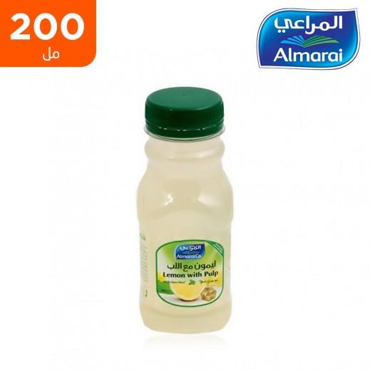 المراعي - عصير ليمون مع اللب 200 مل