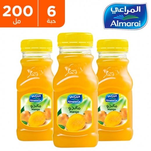 اشتري المراعي عصير مانجو 6 200 مل توصيل Taw9eel Com