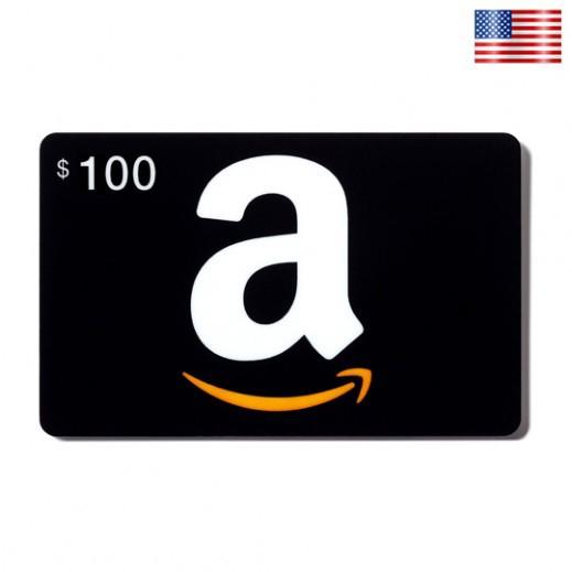 بطاقة AMAZON بقيمة 100 دولار للحسابات الأمريكية فقط –  إستلم فورا على بريدك الإلكتروني