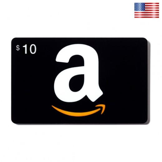 بطاقة AMAZON بقيمة 10 دولار للحسابات الأمريكية فقط –  إستلم فورا على بريدك الإلكتروني