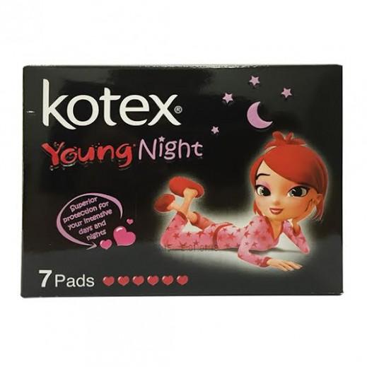 كوتكس -  فوط شابة الليلية 7 فوط