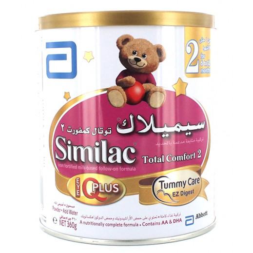 """سيميلاك – حليب أطفال """"توتال كومفورت"""" مع العناية بالبطن وسهولة الهضم 360ج (مرحلة  6-12)"""