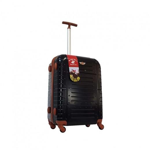 ييفرلي هيلز بولو كلوب - حقيبة سفر حجم صغير - 57 × 34 × 24 سم - أسود