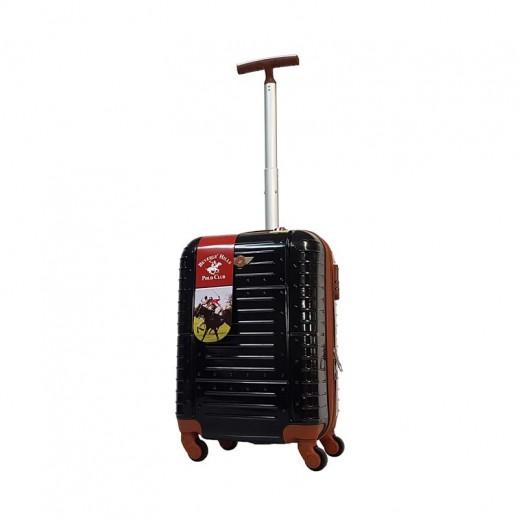 ييفرلي هيلز بولو كلوب - حقيبة سفر أمور حجم متوسط  - 66 × 39 × 29 سم - أسود