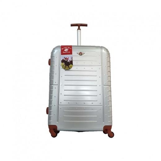 ييفرلي هيلز بولو كلوب - حقيبة سفر أمور حجم صغير - 57 × 34 × 24 سم - رمادي