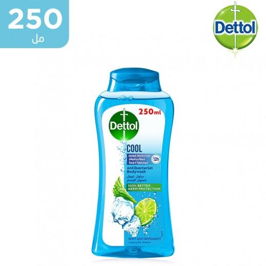 ديتول - غسول الجسم المضاد للبكتيريا بالنعناع والبرغمونت - 250 مل