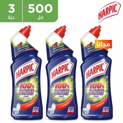 هاربيك - منظف المرحاض - 500 مل 2 + 1 مجاناً