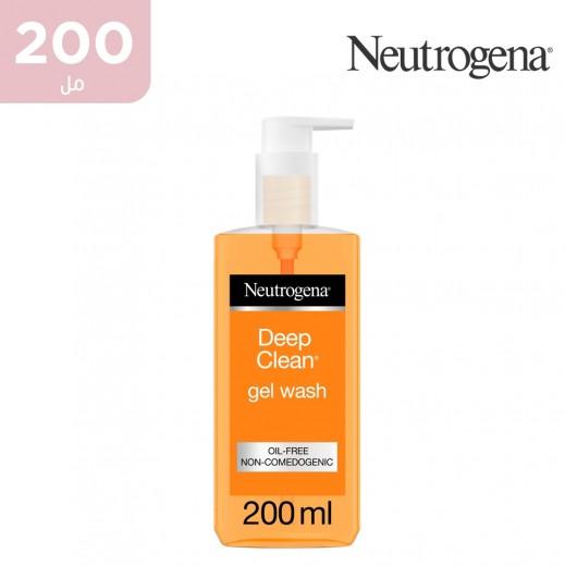 نيوتروجينا - غسول للوجه  ديب كلين جل 200 مل