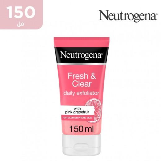 نيوتروجينا - مقشر يومي منعش و منقي مع جريب فروت وردي و فيتامين سي 150 مل