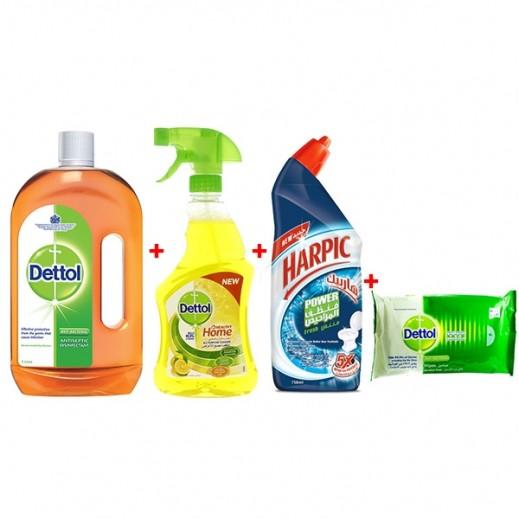 مجموعة تنظيف المنزل