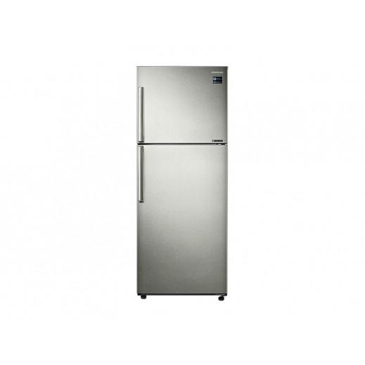 سامسونج - ثلاجة مزدوجة الأبواب مع صانع الثلج سعة 450 لتر  - يتم التوصيل بواسطة AL ANDALUS TRADING COMPANY