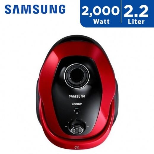 سامسونج – 2000 واط مكنسة كهربائية 2.2 لتر – أحمر