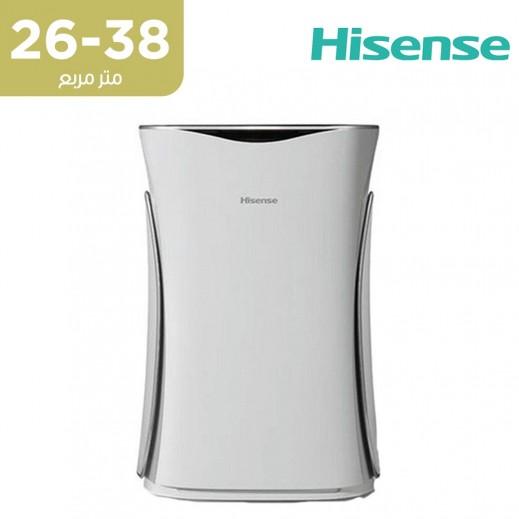 هايسينس - جهاز تنقية الهواء مع واي فاي بمساحة تغطية 28 ~ 38 متر مربع