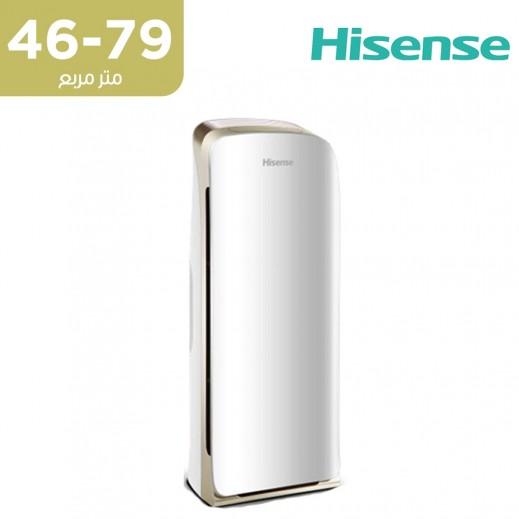 هايسنس - جهاز تنقية الهواء مع واي فاي بمساحة تغطية 46 ~ 79 متر مربع