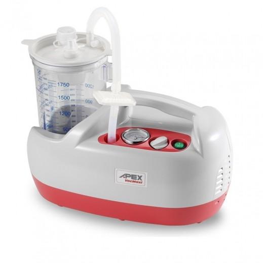 """أبيكس – جهاز """"VAC Maxi"""" لشفط المخاط من الجهاز التنفسي سعة 46 لتر/ دقيقة - يتم التوصيل بواسطة التوصيل بعد يومين عمل  بواسطة العيسى"""
