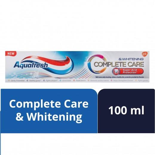أكوافريش - معجون أسنان عناية متكاملة مع تبييض 100 مل