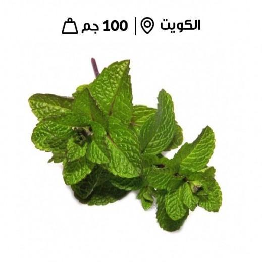 أوراق النّعناع كويتيّة طازجة ( 100 جم تقريبا)