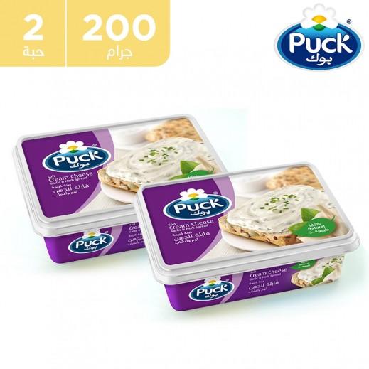 بوك - جبنة طرية قابلة للدهن بالثوم والأعشاب 2 × 200 جم