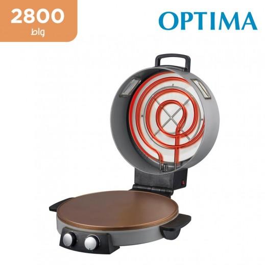 اوبتيما - جهاز تحضير الخبز العربي والبيتزا 2800 واط