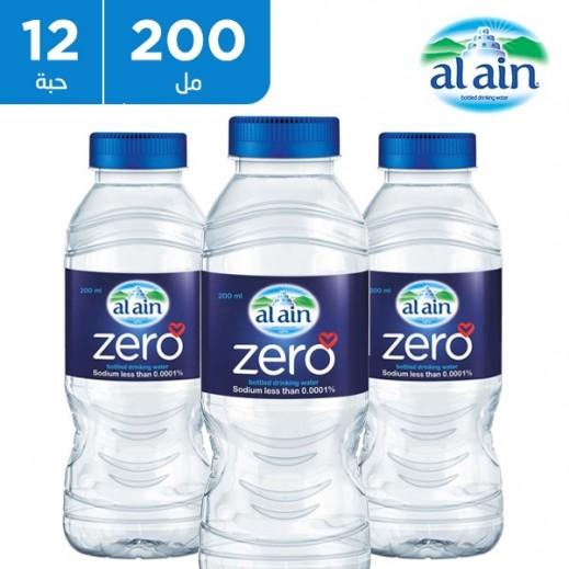 العين - مياه شرب خالية من الصوديوم 12 × 200 مل