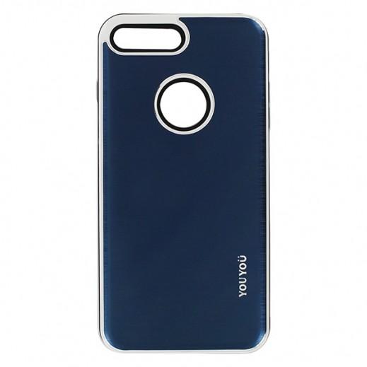 يويو – غطاء حماية خلفي لأي فون 7 Plus – أزرق