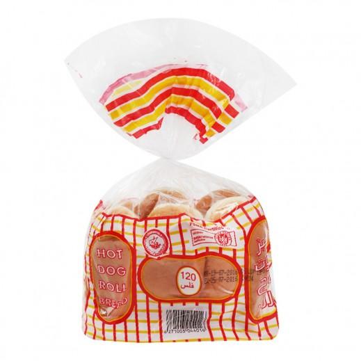 المطاحن - خبز هوت دوج رول - 6 رغيف ( 240 جم )