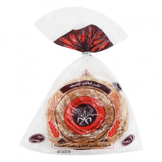 المطاحن - خبز عربي أسمر خفيف 6 حبة ( 300 جم )