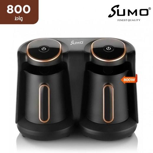 سومو – 800 واط ماكينة القهوة التركية 8 أكواب – أسود