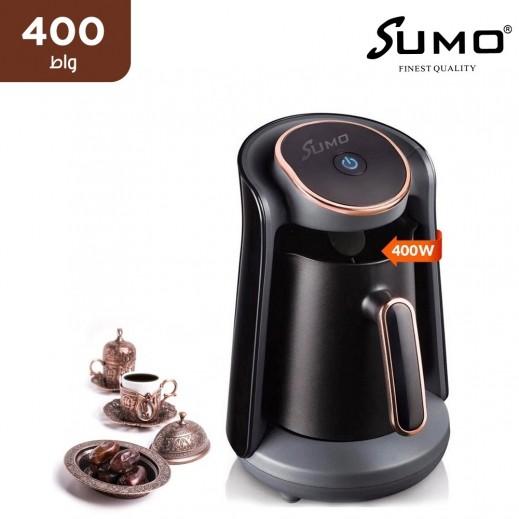 سومو – 400 واط ماكينة القهوة التركية 4 أكواب – اسود
